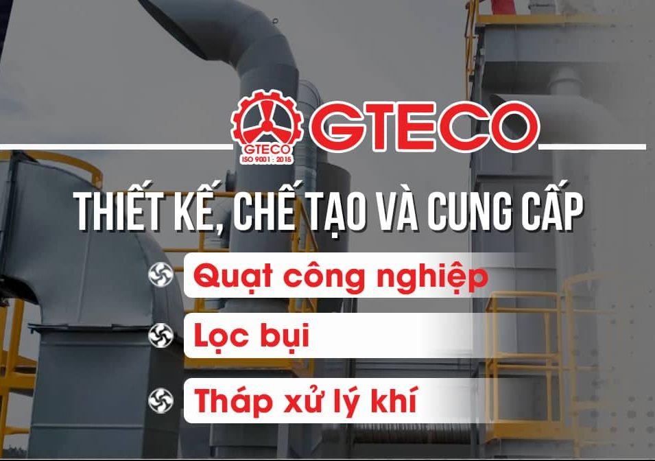 GTECO chuyên sản xuất các sản phẩm Quạt công nghiệp.