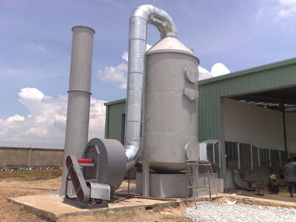 Hệ thống xử lý khí thải chất lượng, chuyên nghiệp, giá tốt