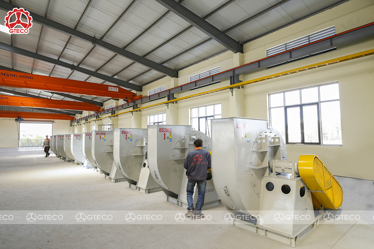 GTECO- Công ty sản xuất và cung cấp quạt công nghiệp Bắc Ninh