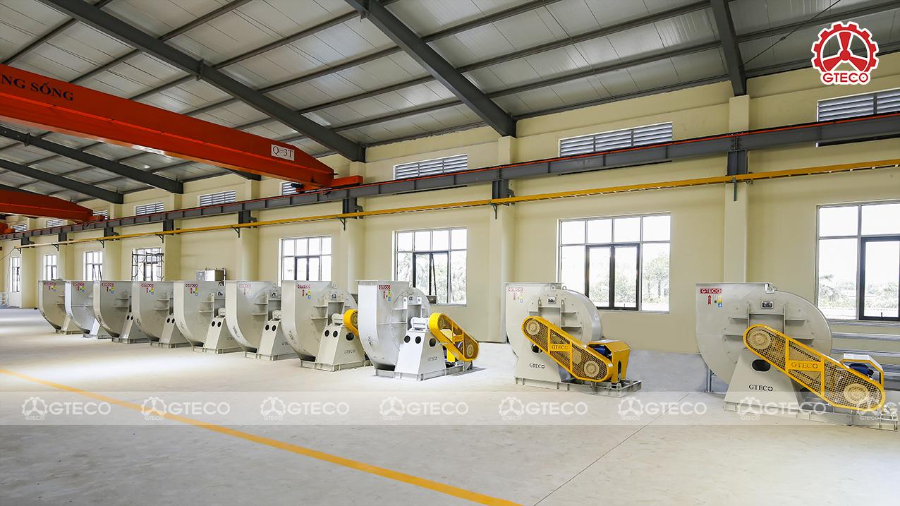 Mua quạt công nghiệp Bắc Giang, lựa chọn GTECO